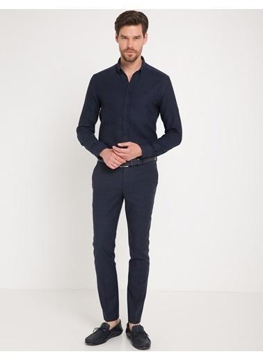 Pierre Cardin Uzun Kollu Gömlek Lacivert
